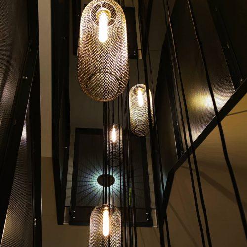Stimmige Beleuchtung im Hotel Alpenstern, Damüls